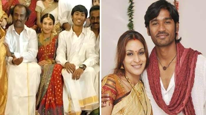 dhanush and aishwarya love story