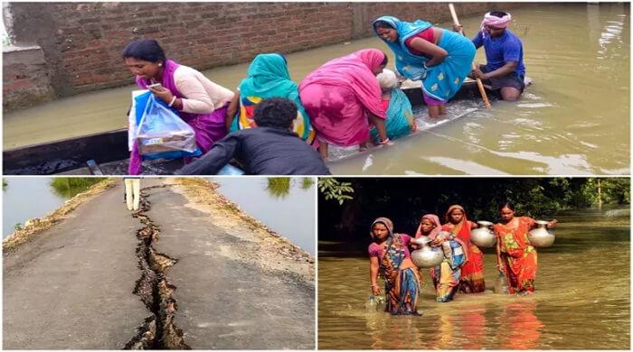 flood update in bihar