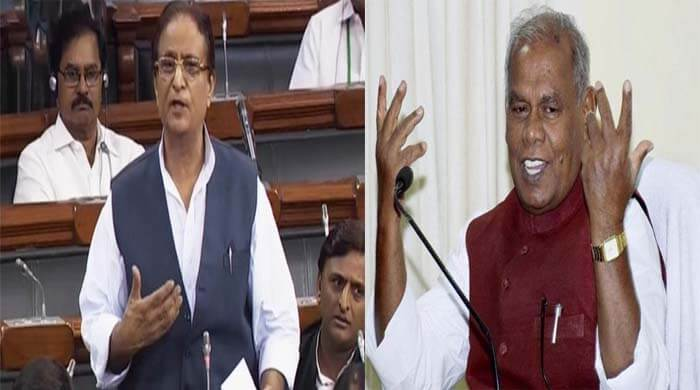 jitan ram manjhi support azam khan statement