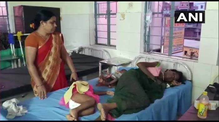 poor and helpless mother