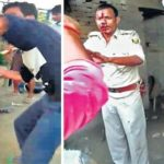 public beat up police in bihar
