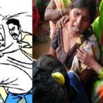 Lover beaten to death