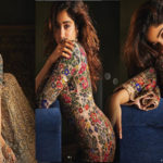 jahnvi kapoor latest photoshoot in lenhga choli